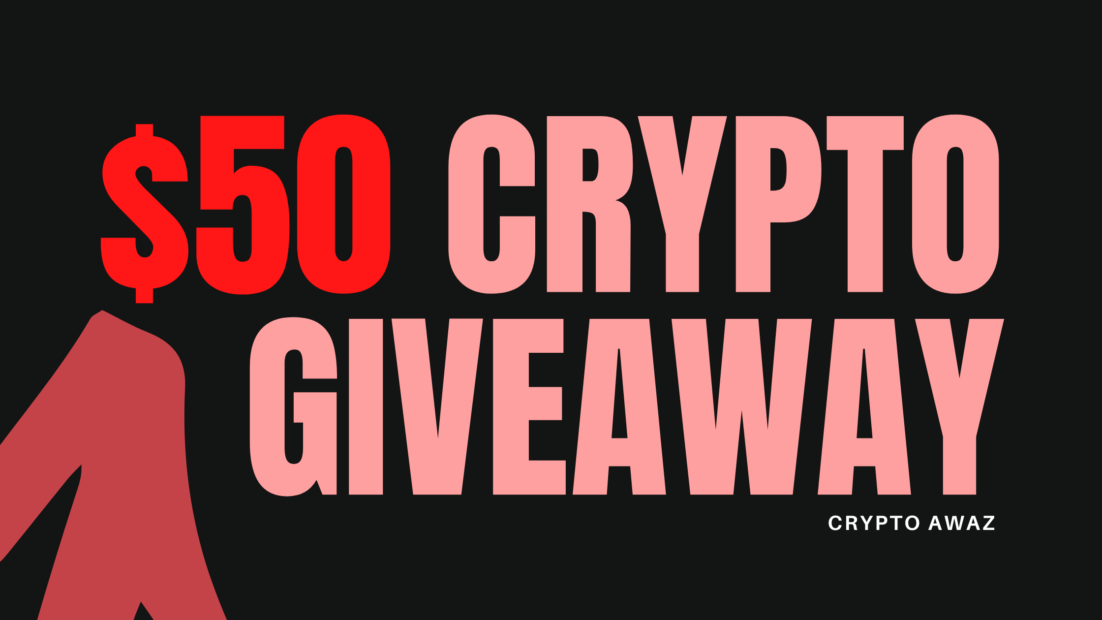 $50 Crypto Giveaway